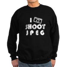 I Shoot JPEG Sweatshirt