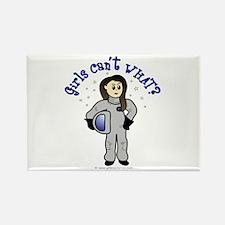 Light Astronaut Rectangle Magnet