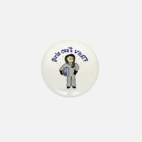 Light Astronaut Mini Button