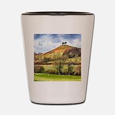 Colmers Hill Landscape Shot Glass