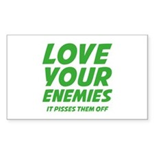 Love Your Enemies Decal