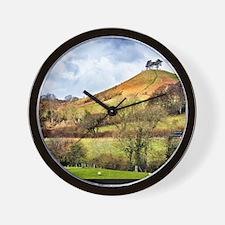 Colmers Hill Landscape Wall Clock
