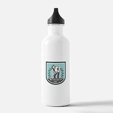 Organic Farmer Grabhoe Plant Shield Water Bottle