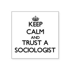 Keep Calm and Trust a Sociologist Sticker