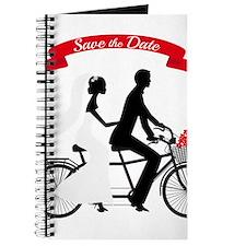 Save the date, wedding invitation tandem bicycle J