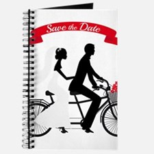 Save the date, wedding invitation tandem bicycle J