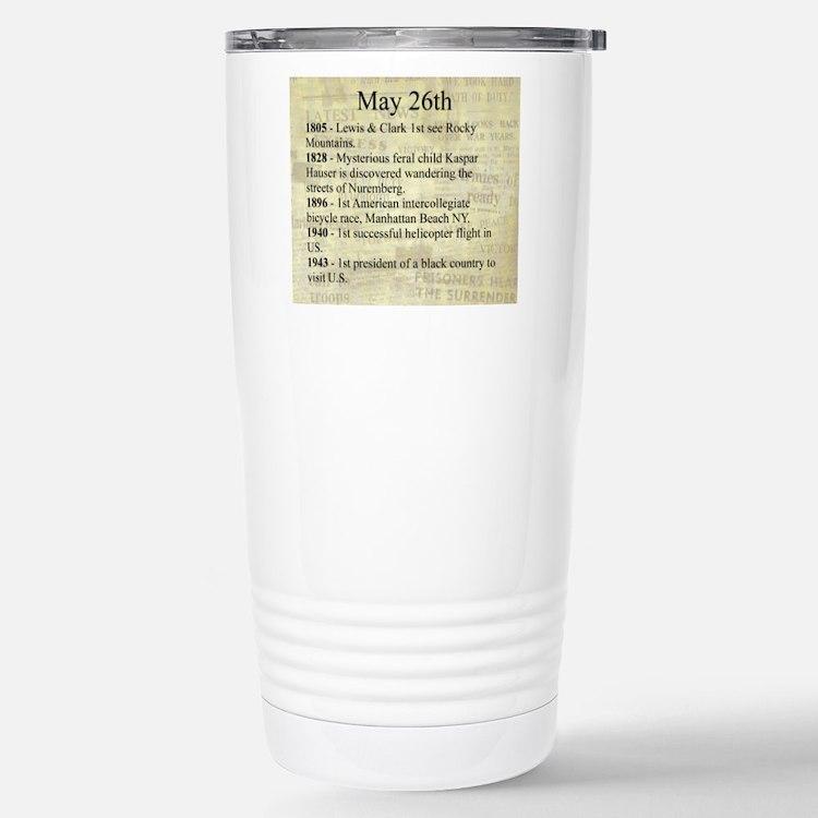 May 26th Travel Mug