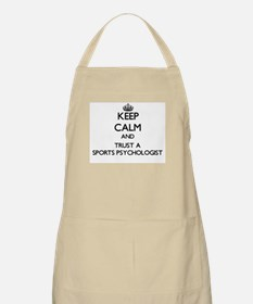 Keep Calm and Trust a Sports Psychologist Apron