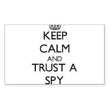 Keep Calm and Trust a Spy Decal