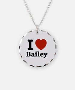 I love Bailey Necklace