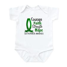 Gastroparesis Courage Faith 1 Infant Bodysuit