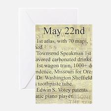May 22nd Greeting Cards