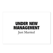 Under New Management. Just Married. Postcards (Pac