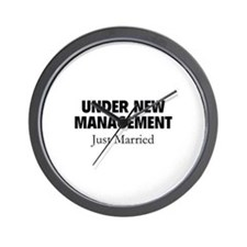 Under New Management. Just Married. Wall Clock