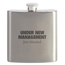 Under New Management. Just Married. Flask