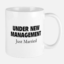 Under New Management. Just Married. Mug