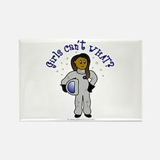 Dark Astronaut Rectangle Magnet