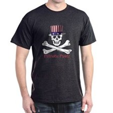 Patriotic Pirate (C) T-Shirt
