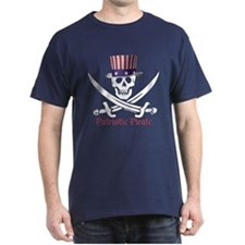 Patriotic Pirate (S) T-Shirt