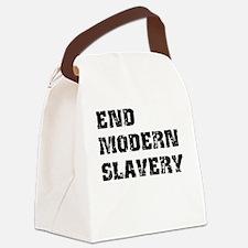 End Modern Slavery Canvas Lunch Bag
