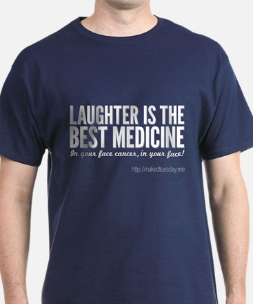 Nakedtuesday.me Laughter Coloured Tee T-Shirt