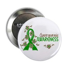 "Gastroparesis Awareness 6 2.25"" Button"
