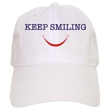 keep smiling Baseball Cap