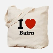I love Bairn Tote Bag