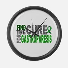 Gastroparesis Find the Cure Large Wall Clock