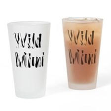 Wild Mimi Drinking Glass