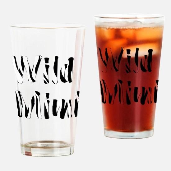 Wild Mimi Drinking Glass