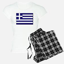 Flag of Greece NO Txt Pajamas