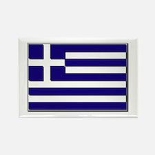 Flag of Greece NO Txt Rectangle Magnet