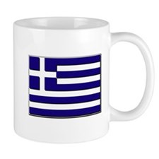 Flag of Greece NO Txt Mug