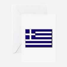 Flag of Greece NO Txt Greeting Cards (Pk of 20)