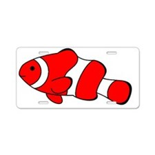 Beautiful Clownfish  Aluminum License Plate