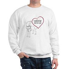 Heart Dog Support Sweatshirt