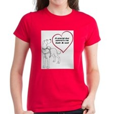 Heart Dog Support Tee