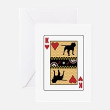 King Bulldog Greeting Cards (Pk of 10)
