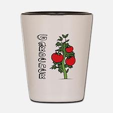 Tomato Gardener Shot Glass