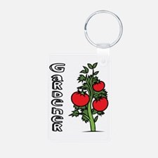 Tomato Gardener Keychains