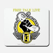Free Talk Live Mousepad