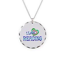 I Love Reading Necklace