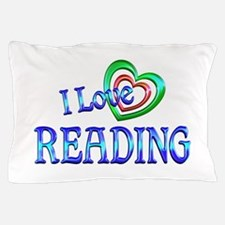 I Love Reading Pillow Case