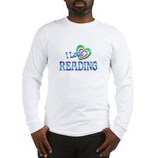 I Love Reading Long Sleeve T-Shirt