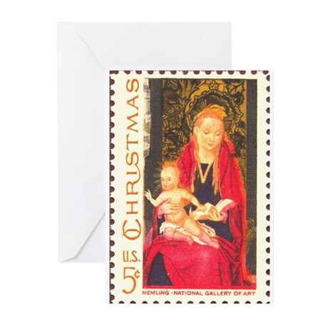 Madonna and Child Christmas Cards (Pkg 6)