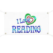 I Love Reading Banner