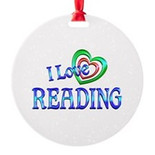 I Love Reading Ornament