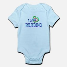 I Love Reading Infant Bodysuit