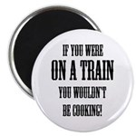 """Train Cooking 2.25"""" Magnet (10 pack)"""